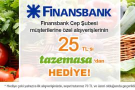 Finansbank Cep Şubesi Müşterilerine Özel Kampanya!