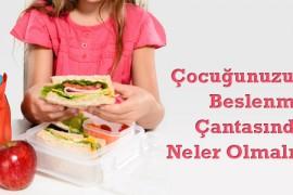 Çocuğunuzun Beslenme Çantasında Neler Olmalı?