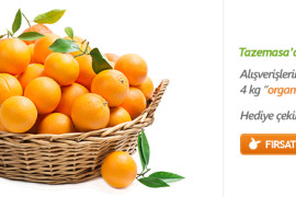 Vitamin Deposu Portakal Kampanyası