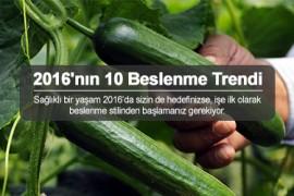 2016'nın 10 Beslenme Trendi