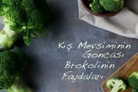 Kış Mevsiminin Goncası Brokolinin Faydaları