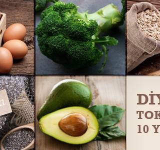 Diyette Tok Tutan 10 Yiyecek
