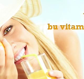 Yazın Bu Vitaminleri Alın!