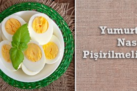 Yumurta Nasıl Pişirilmeli?