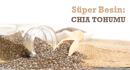 Süper besin chia tohumu