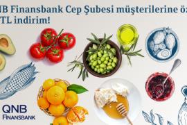 QNB Finansbank Cep Şubesi Müşterine Özel 30 TL İndirim!