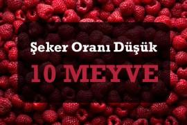 Şeker Oranı Düşük 10 Meyve