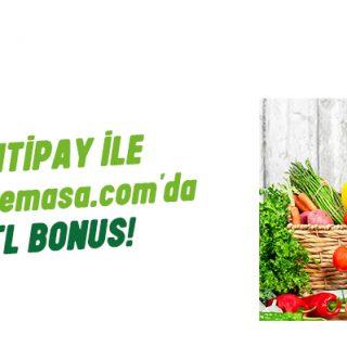 GarantiPay ile 20 TL Bonus!
