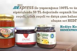BKM Express Alışverişinize 50 TL Değerinde Set Hediye!